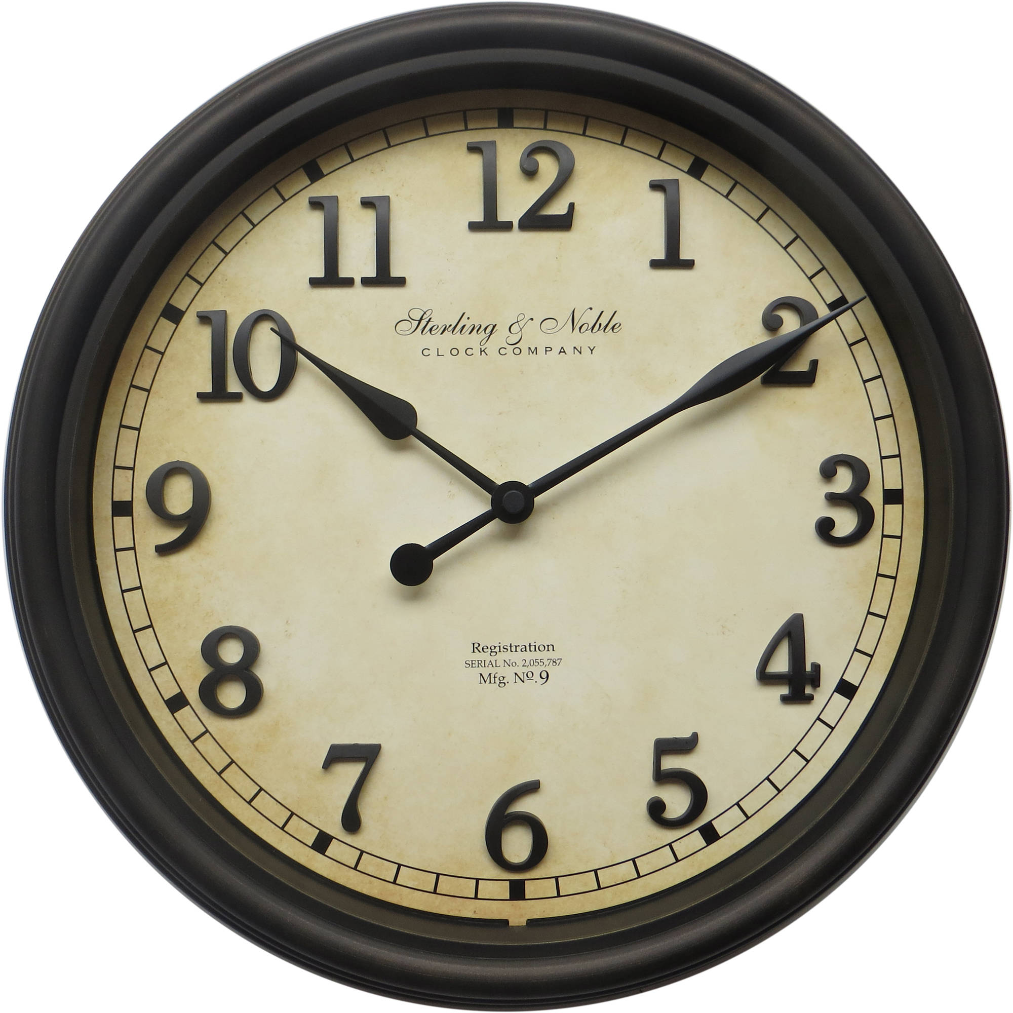 Better Homes and Gardens Old World Arabic Wall Clock