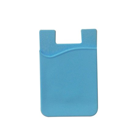Fashion Simple Adhesive Silicone Card Pocket Money Pouch Case for Cell (Best Cell Phone For The Money)