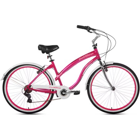 "26"" Kent Del Rio Womens Cruiser Bike, Magenta by"
