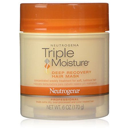 Hair Recovery - 5 Pack - Neutrogena Triple Moisture Deep Recovery Hair Mask 6oz Each