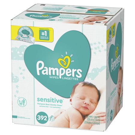 Upc 037000893981 Pampers Sensitive Baby Wipes