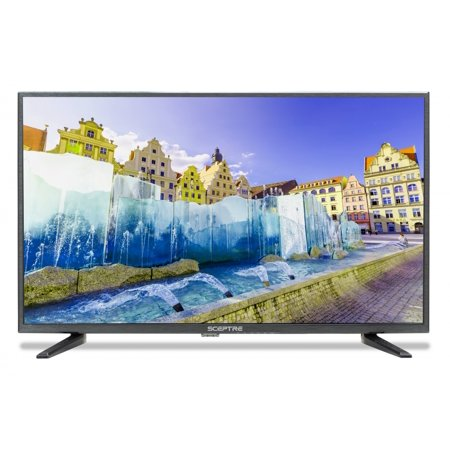 Sceptre 32-Inch 720P LED HDTV X328BV-SR HDMI USB True Black, (Best Time To Purchase A Tv 2017)