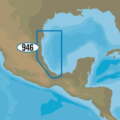 C-MAP MAX-N+ NA-Y946 - Brownsville, TX to Coatzacoalcos, MX