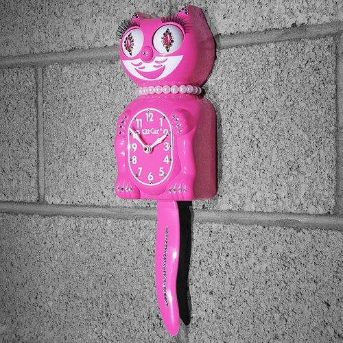 Kit-Cat Klock Jeweled Gentleman Wall Clock
