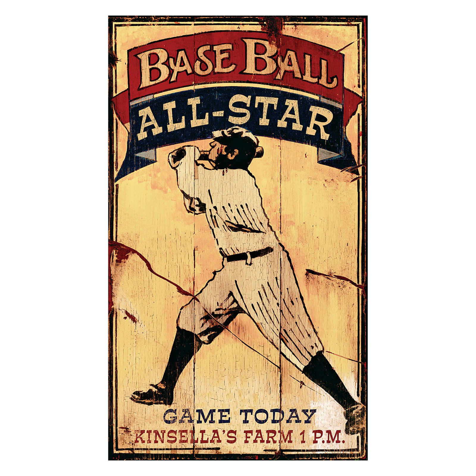 Baseball Allstars Wall Art