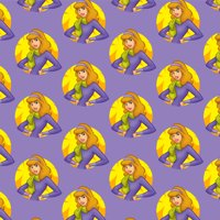 Scooby Doo Daphne Character Premium Roll Gift Wrap Wrapping Paper
