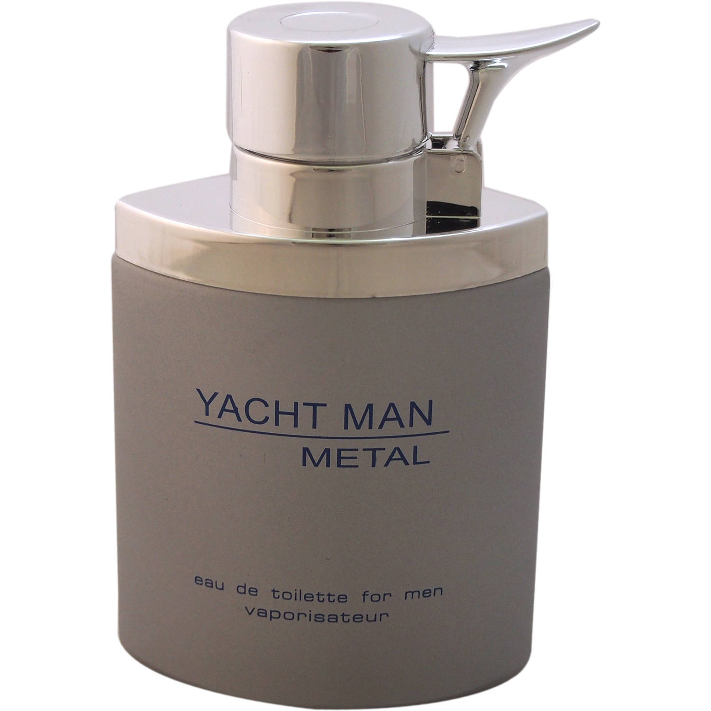 Myrurgia Yacht Man Metal EDT Spray, 3.4 oz