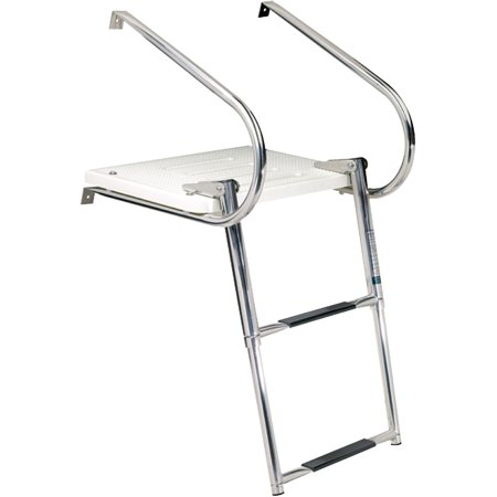 Seachoice Universal Swim Platform with Top-Mount Ladder