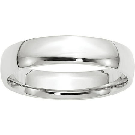 14KW 5mm LTW Comfort Fit Band Size 7 (14 Kw Diamond Band)