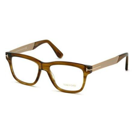 TOM FORD Eyeglasses FT5372 048 Shiny Dark Brown (Tom Ford Eyeglasses Women 2013)