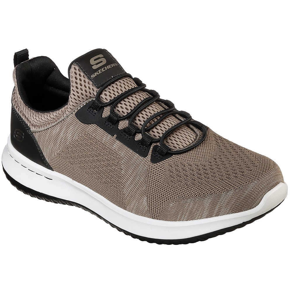 Skechers Mens Delson Brewton Economical, stylish, and eye-catching shoes