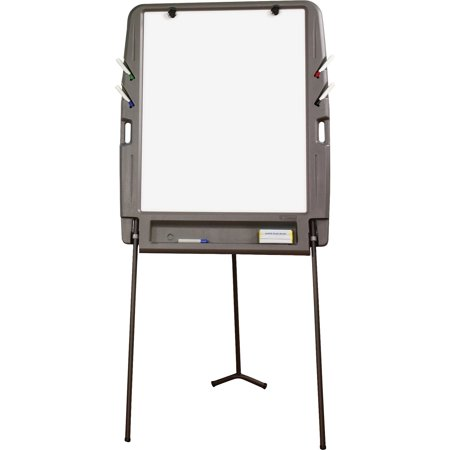 Iceberg Portable Flipchart Easel with Dry-erase Surface