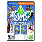 Electronic Arts Sims 3: Worlds Bundle, EA, PC Software, 014633731217