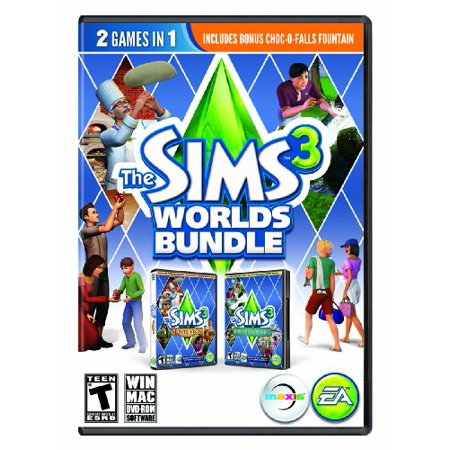Electronic Arts Sims 3: Worlds Bundle, EA, PC Software, - Sims 3 Halloween Dress Up