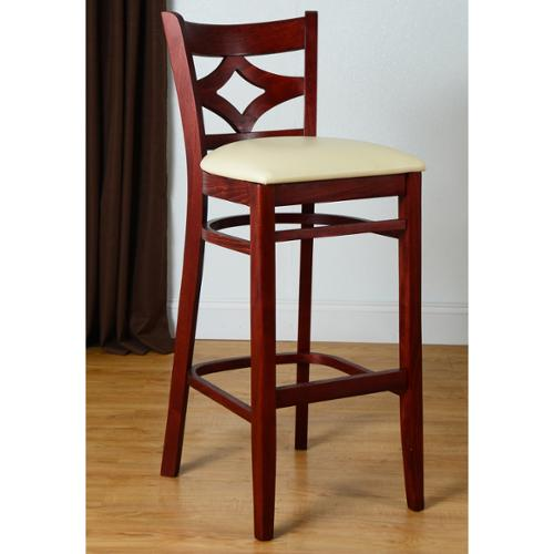 Beechwood Mountain Diamond Back Bar Stool by Overstock