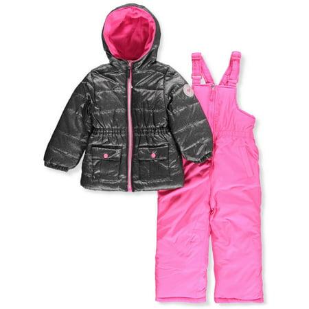 2ff3e132b Pink Platinum - Pink Platinum Girls' 2-Piece Snowsuit - Walmart.com