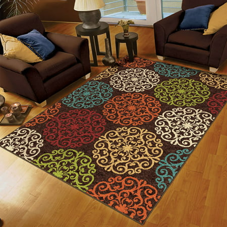 Orian Harbridge Woven Olefin Area Rug Walmart Com