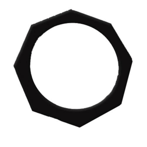 OPTIMA Black Short PAR38 Octogonal Gel Frame