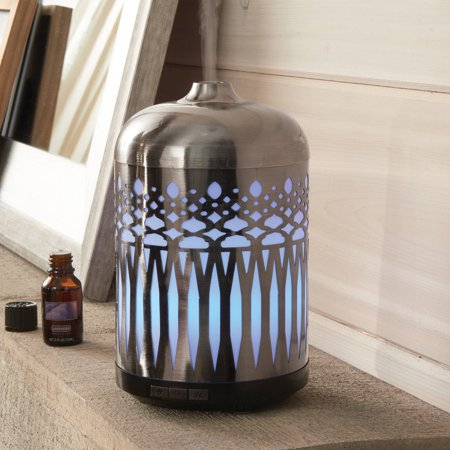 Better homes and gardens antique pewter 250ml oil diffuser Better homes and gardens diffuser