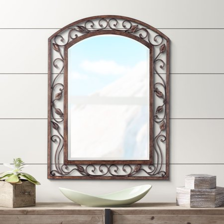 Arch Shaped Mirror (Franklin Iron Works Eden Park Arch 25