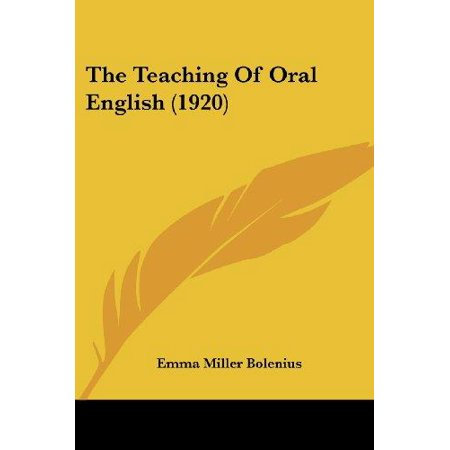 The Teaching of Oral English (1920) - image 1 de 1