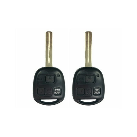 2 Replacement for 2007 2008 2009 Lexus RX350 Key Fob Keyless Entry Car Remote 2008 Lexus Rx350