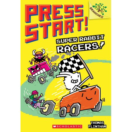 Press Start!: Super Rabbit Racers! (Paperback) ()