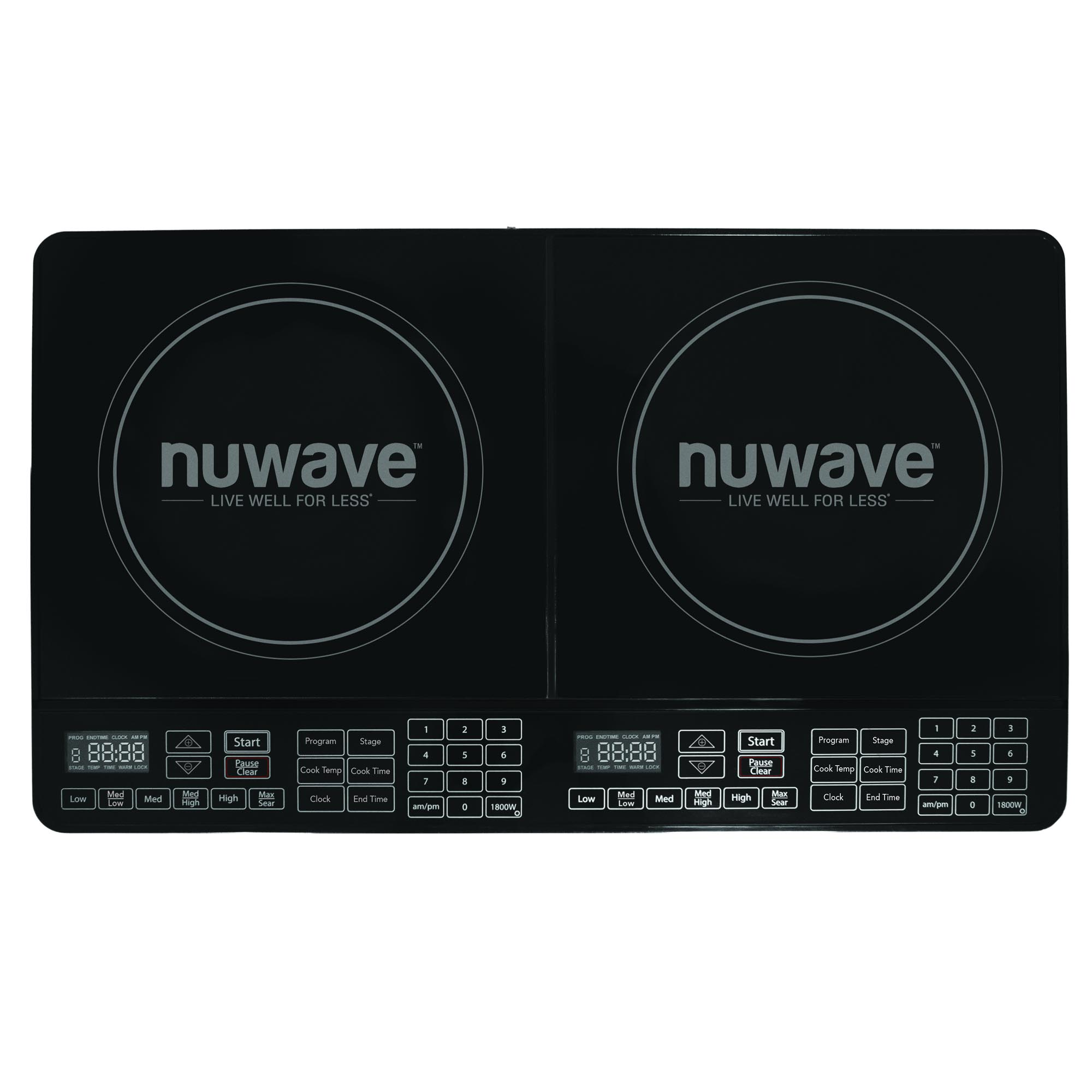Fagor 1800w portable induction cooker 670041900 price tracking - Nuwave Double Precision Induction Cooktop Burner Price