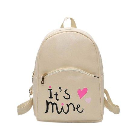 Fashion Women Backpack Leather School Bags Girls Top Handle Backpack -  Walmart.com 5fa3bccc12958