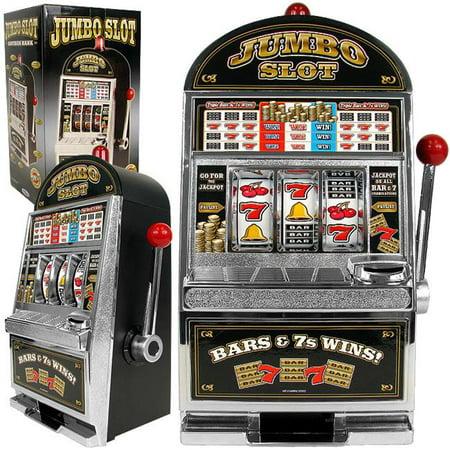 Jumbo Slot Machine Bank   Authentic Replication