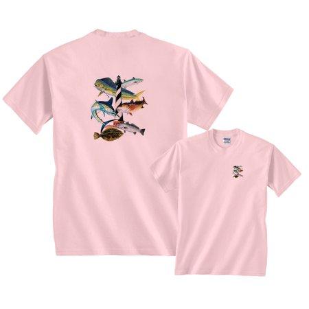 Cape Hatteras North Carolina Sailfish Marlin Fishing T-Shirt (Sailfish Marlin)