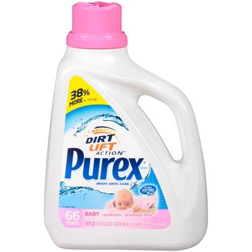 Purex Baby Liquid Laundry Detergent, 100 fl oz - Walmart.com