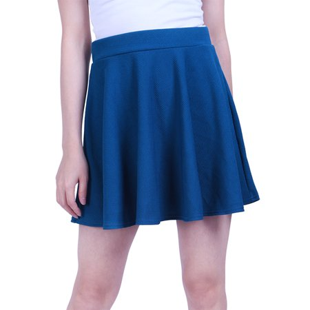 Adult Circle Skirt - HDE Womens Jersey Knit Flare A Line Pleated Circle Skater Skirt
