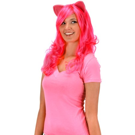My Little Pony Pinkie Pie Wig With Ears Friendship Is Magic Costume Women