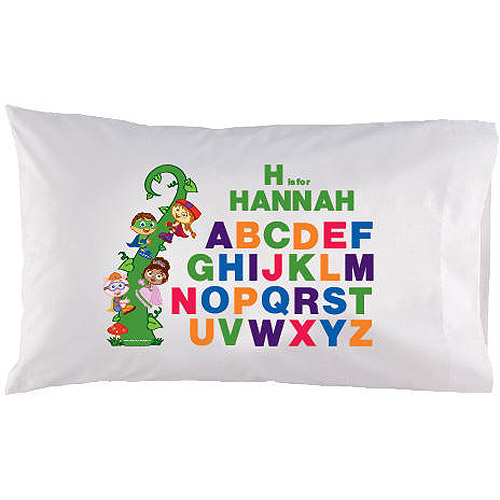 Personalized Super Why! Super Letters Pillowcase