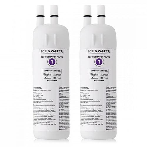 Original Whirlpool Water Filter Cartridge W10295370 / 9930 / W10291030 (2 Pack) OEM