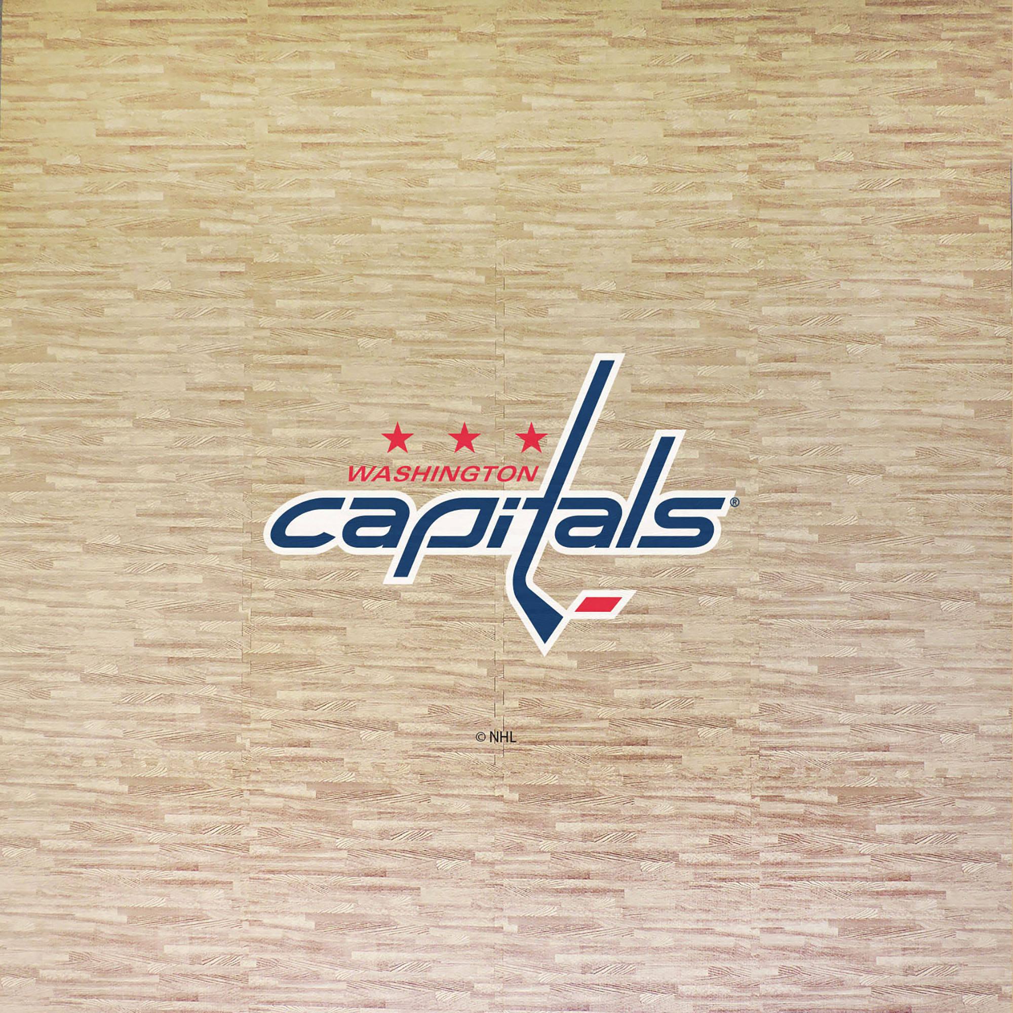 NHL Washington Capitals Portable Foam Puzzle Tailgate Floor Mat by