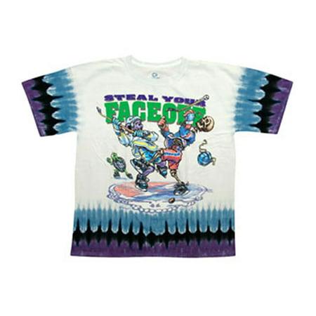 Grateful Dead Mens  Steal Your Faceoff Tie Dye T Shirt Multi