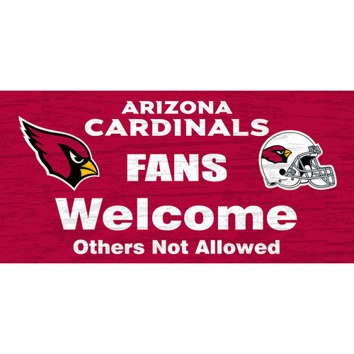 Fan Creations NFL Fans Welcome Graphic Art Plaque