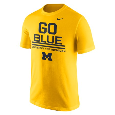 Michigan Wolverines Nike Local Verbiage T-Shirt - Gold