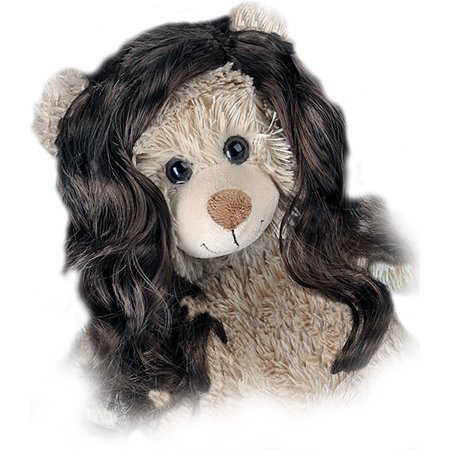 Brown Curls (Long Curly Brown Wig Fits Most 14