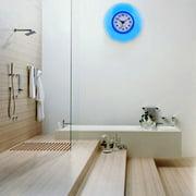 Mini Cute Bathroom Kitchen Mirror Suction Wall Clock Shower Waterproof Quartz Clocks Decoration, Waterproof Clock, Wall Clocks