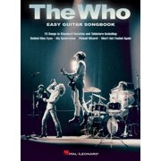 The Who - Easy Guitar Songbook - eBook