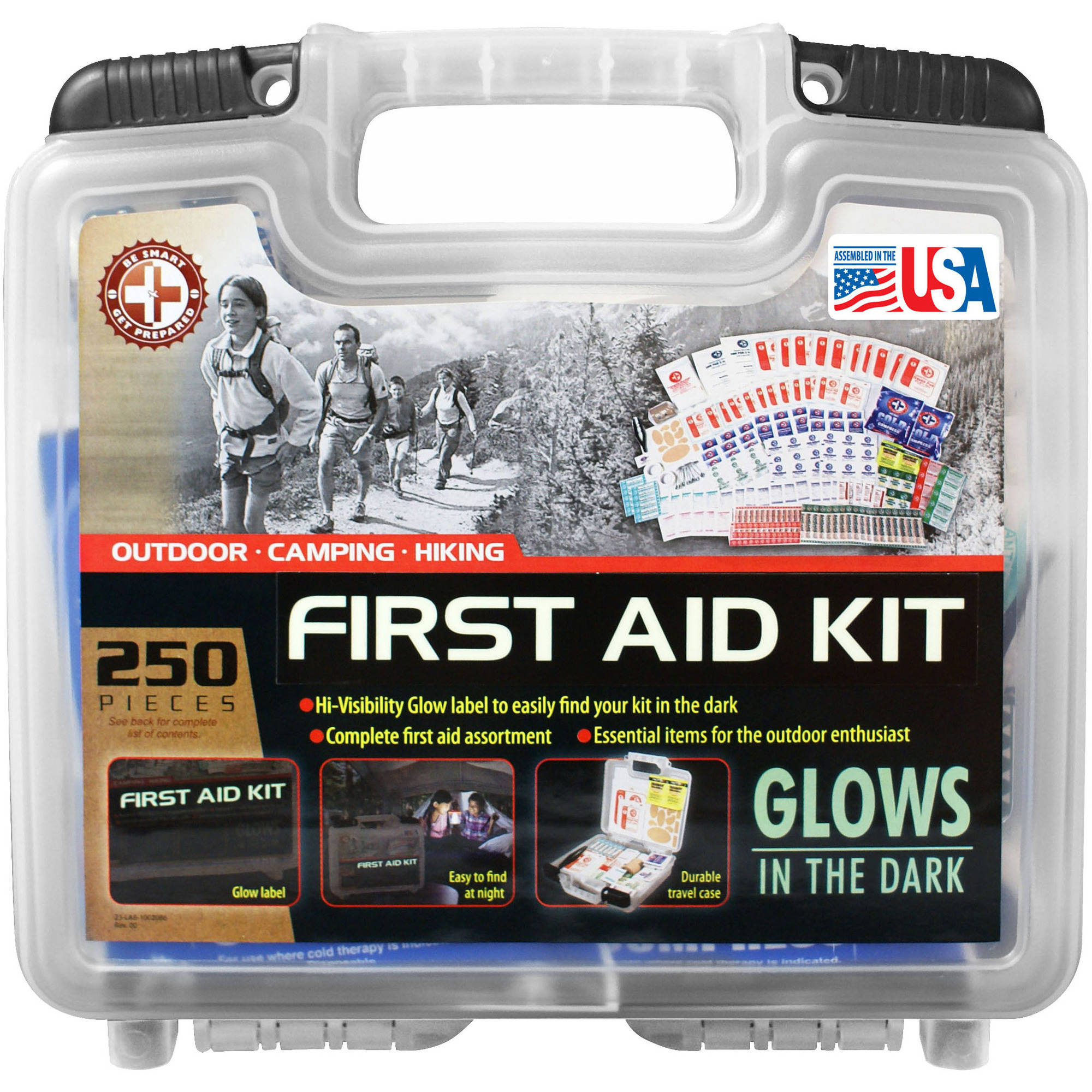 "TRIs ""Be Smart Get Prepared"" 250-Piece Outdoor Kit"