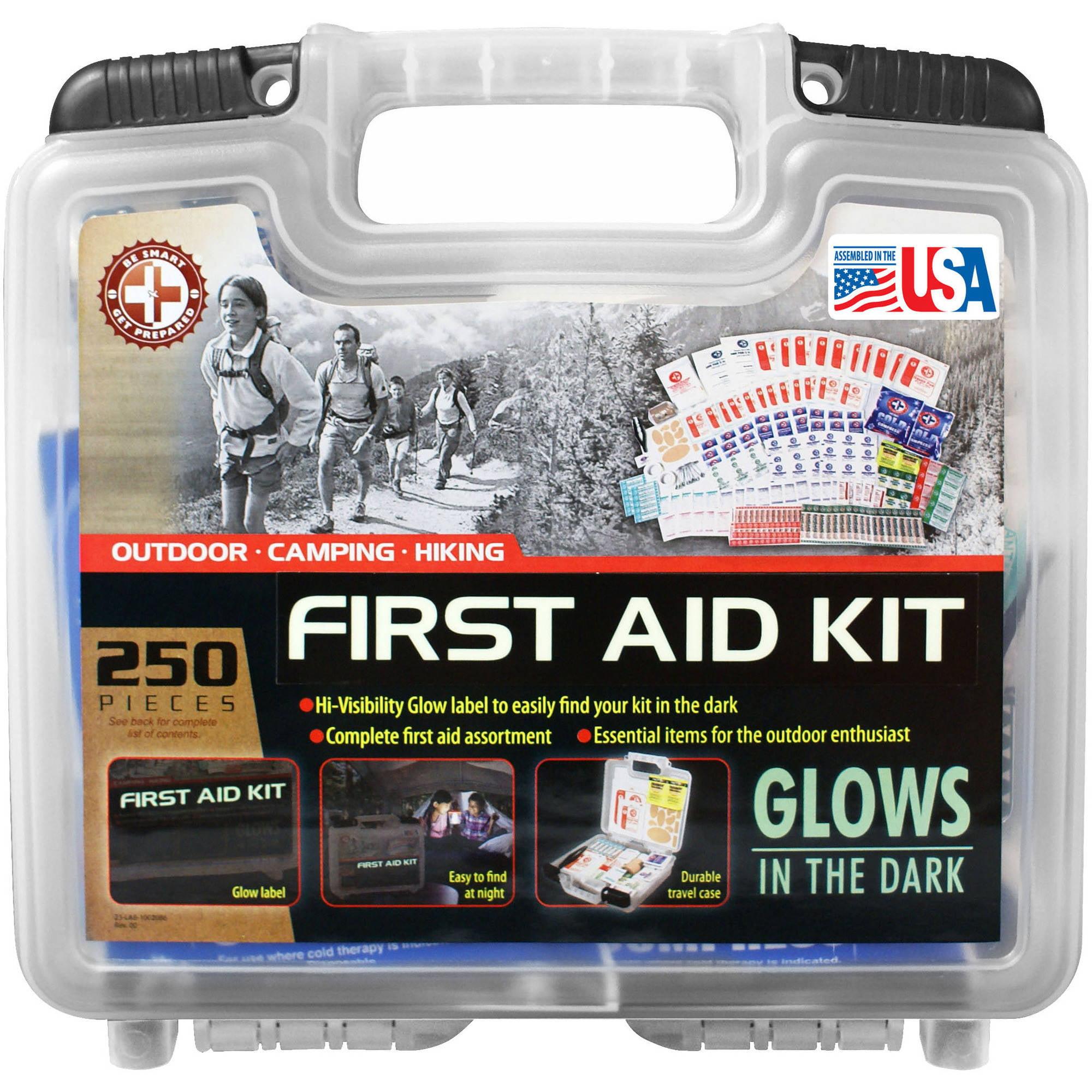 "TRIs ""Be Smart Get Prepared"" 250-Piece Outdoor Kit"