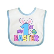 My 1st Easter One with Bunny Ears and Tail Baby Bib