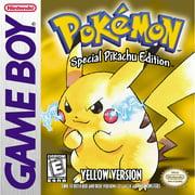 Pokemon Yellow Version, Nintendo, Nintendo 3DS, [Digital Download], 0004549668096