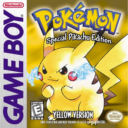 Pokemon Yellow Version, Nintendo, Nintendo 3DS, [Digital Download],