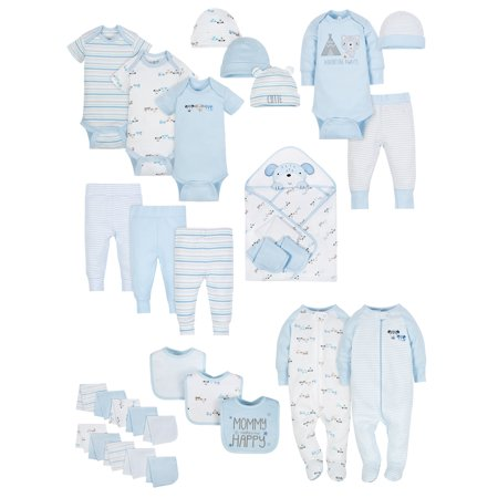Baby Shower Layette Set, 31-piece (Baby Boys)