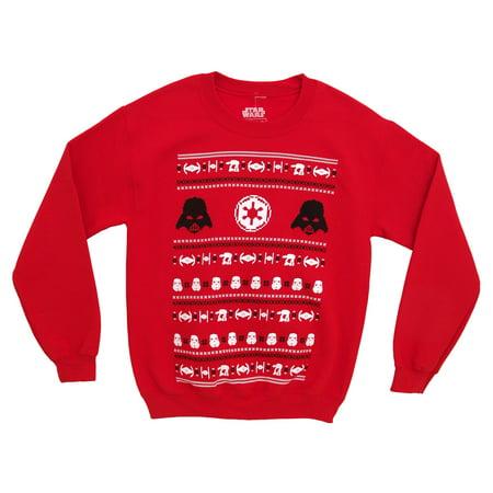 A Star Sweatshirt (Star Wars Darth Vader Empire Christmas Adult Crewneck Sweatshirt )